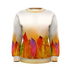Autumn Leaves Colorful Fall Foliage Women s Sweatshirt