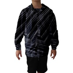Paper Low Key A4 Studio Lines Hooded Wind Breaker (kids)