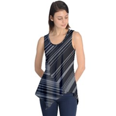 Paper Low Key A4 Studio Lines Sleeveless Tunic