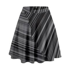 Paper Low Key A4 Studio Lines High Waist Skirt