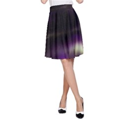 The Northern Lights Nature A Line Skirt