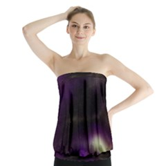 The Northern Lights Nature Strapless Top