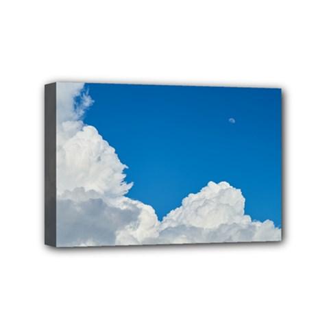 Sky Clouds Blue White Weather Air Mini Canvas 6  x 4