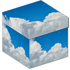 Sky Clouds Blue White Weather Air Storage Stool 12