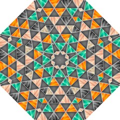 Abstract Geometric Triangle Shape Straight Umbrellas