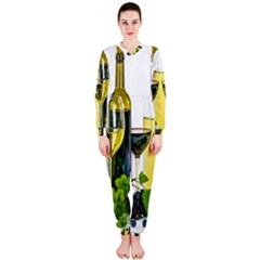 White Wine Red Wine The Bottle OnePiece Jumpsuit (Ladies)