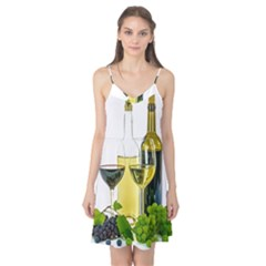 White Wine Red Wine The Bottle Camis Nightgown