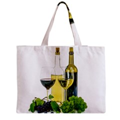 White Wine Red Wine The Bottle Medium Tote Bag