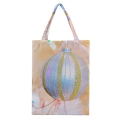 Sphere Tree White Gold Silver Classic Tote Bag