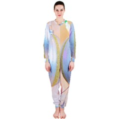 Sphere Tree White Gold Silver OnePiece Jumpsuit (Ladies)
