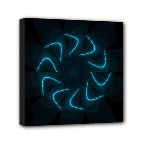 Background Abstract Decorative Mini Canvas 6  x 6