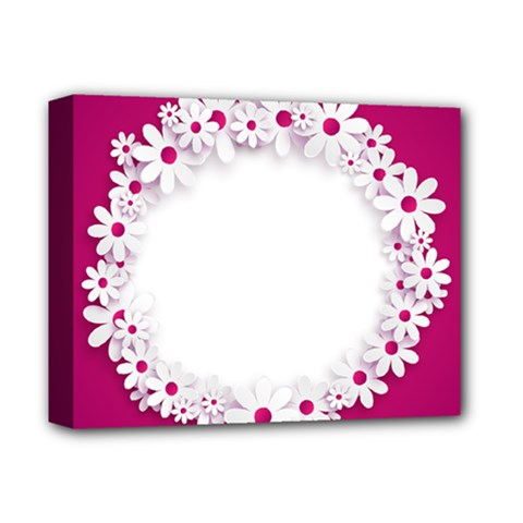 Photo Frame Transparent Background Deluxe Canvas 14  X 11