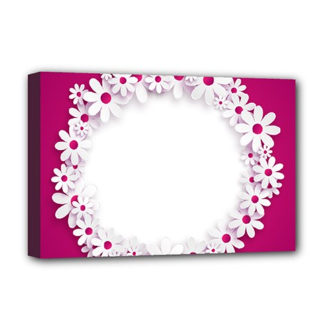 Photo Frame Transparent Background Deluxe Canvas 18  x 12