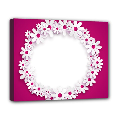 Photo Frame Transparent Background Deluxe Canvas 20  X 16
