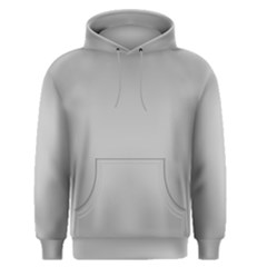 Solid Christmas Silver Men s Pullover Hoodie