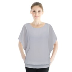 Solid Christmas Silver Blouse