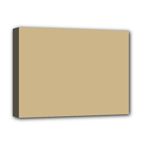 Solid Christmas Gold Deluxe Canvas 16  x 12