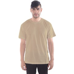 Solid Christmas Gold Men s Sports Mesh Tee