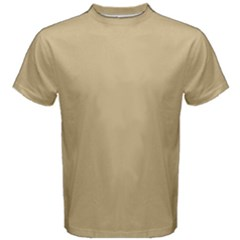 Solid Christmas Gold Men s Cotton Tee