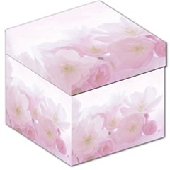 Pink Blossom Bloom Spring Romantic Storage Stool 12