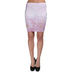 Pink Blossom Bloom Spring Romantic Bodycon Skirt