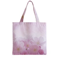 Pink Blossom Bloom Spring Romantic Grocery Tote Bag