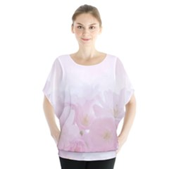 Pink Blossom Bloom Spring Romantic Blouse