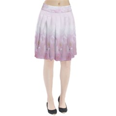 Pink Blossom Bloom Spring Romantic Pleated Skirt