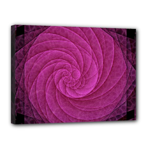 Purple Background Scrapbooking Abstract Canvas 16  x 12