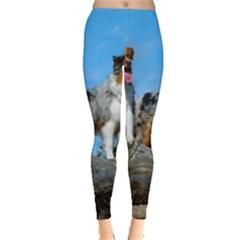mini Australian Shepherd group Leggings