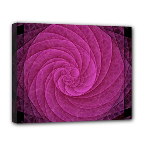 Purple Background Scrapbooking Abstract Deluxe Canvas 20  x 16