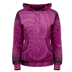 Purple Background Scrapbooking Abstract Women s Pullover Hoodie
