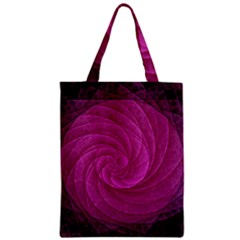 Purple Background Scrapbooking Abstract Zipper Classic Tote Bag
