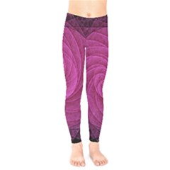 Purple Background Scrapbooking Abstract Kids  Legging