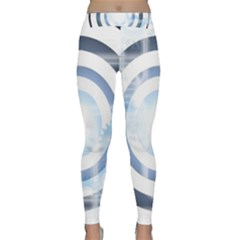 Center Centered Gears Visor Target Classic Yoga Leggings