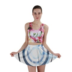 Center Centered Gears Visor Target Mini Skirt
