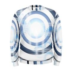 Center Centered Gears Visor Target Men s Sweatshirt