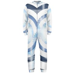 Center Centered Gears Visor Target OnePiece Jumpsuit (Men)