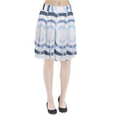Center Centered Gears Visor Target Pleated Skirt