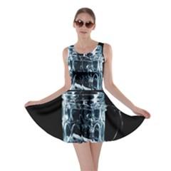 Glass Water Liquid Background Skater Dress