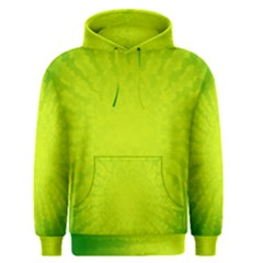 Radial Green Crystals Crystallize Men s Pullover Hoodie