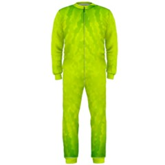 Radial Green Crystals Crystallize OnePiece Jumpsuit (Men)
