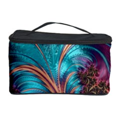Feather Fractal Artistic Design Cosmetic Storage Case