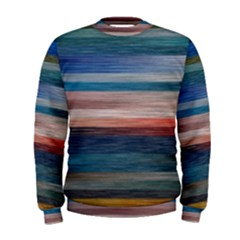 Background Horizontal Lines Men s Sweatshirt