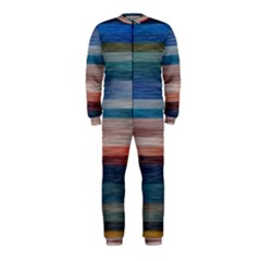 Background Horizontal Lines Onepiece Jumpsuit (kids)