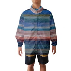 Background Horizontal Lines Wind Breaker (kids)