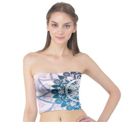 Mandalas Symmetry Meditation Round Tube Top