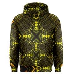 Abstract Glow Kaleidoscopic Light Men s Pullover Hoodie