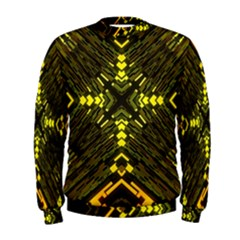 Abstract Glow Kaleidoscopic Light Men s Sweatshirt