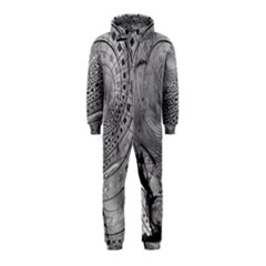 Fragmented Fractal Memories and Gunpowder Glass Hooded Jumpsuit (Kids)